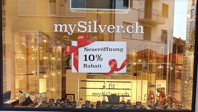 Schmuckladen www.mysilver.ch