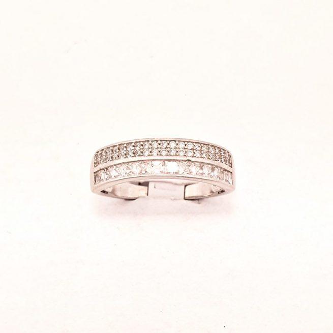 Verlobungsring Silber Abella