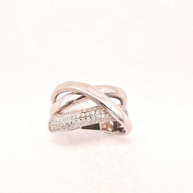 Verlobungsring Silber Josafina