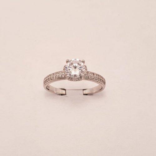 Verlobungsring Silber
