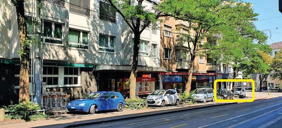 Auto My Silver Standort und Anfahrt