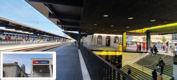 Bahnhof Oerlikon My Silver Standort und Anfahrt