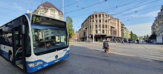 Bus-Sternen Oerlikon My Silver Standort und Anfahrt